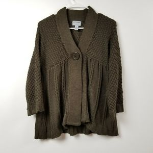 Pacific Heights Of London Knit Cardigan Sweater L